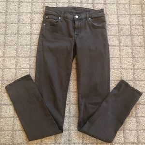 7 for All Mankind jeans gray/brown/ 27